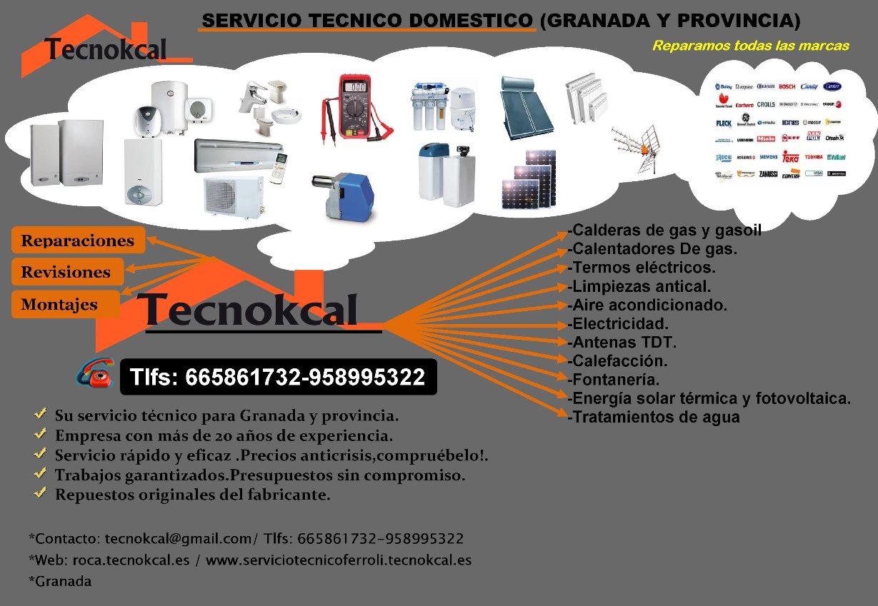 Servicio t cnico granada servicio tecnico calderas for Servicio tecnico fagor granada